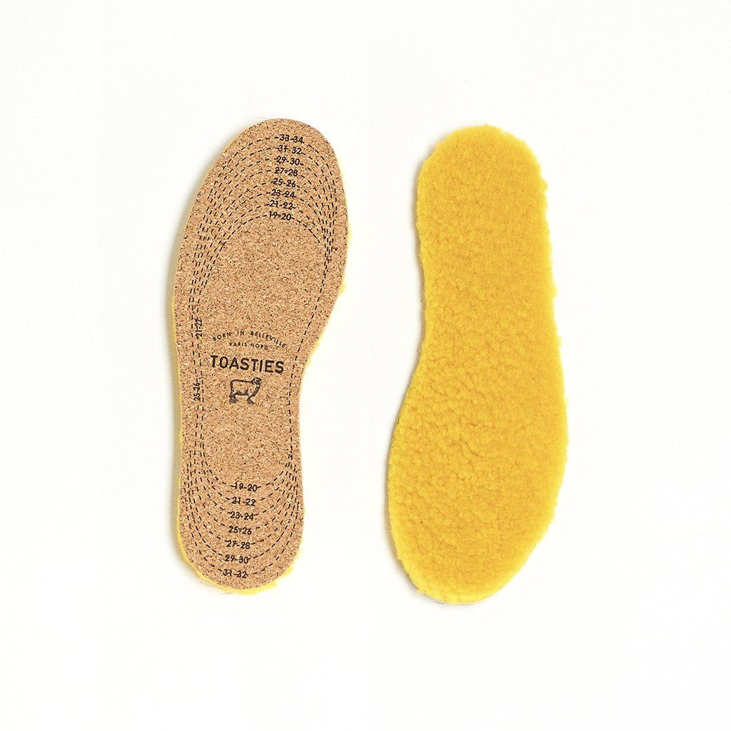 TOASTIES - Baby Insole - Yellow Women's Accessories Toasties