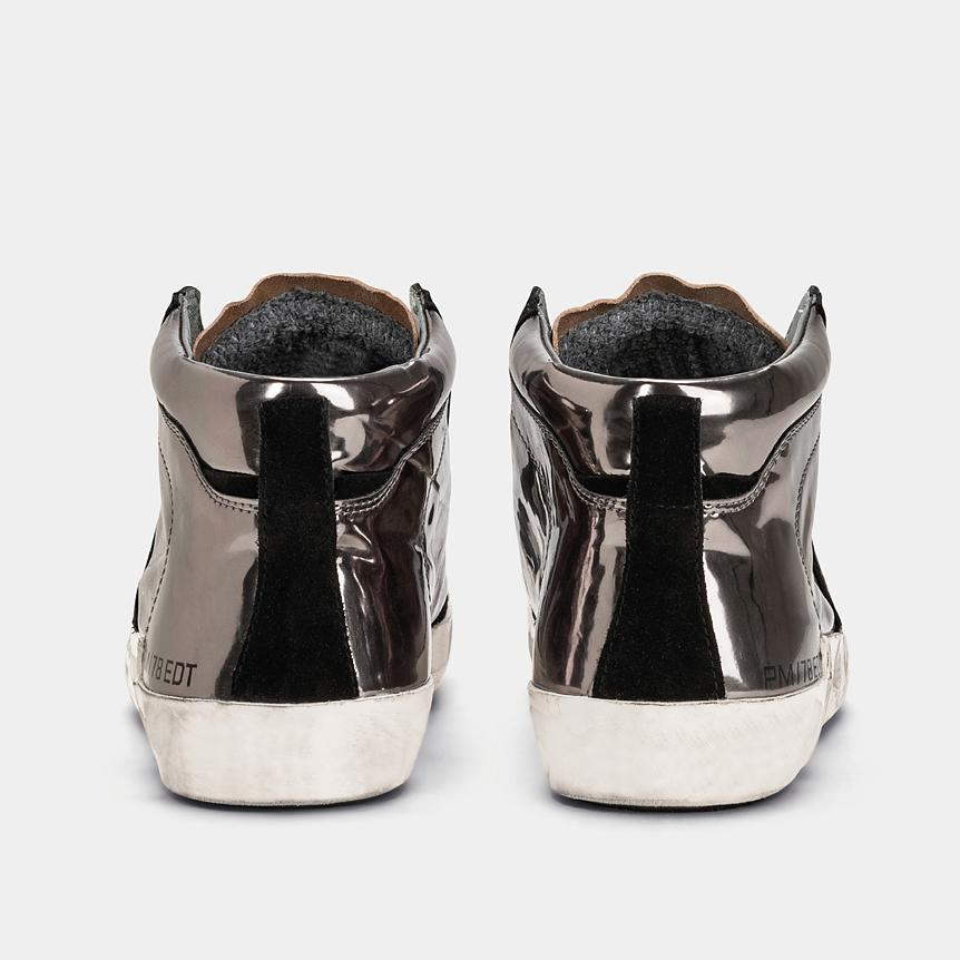 PHILIPPE MODEL prsx - AI19 / 20 - PRHD MS01 - Silver Women's Shoes Philippe Model Paris