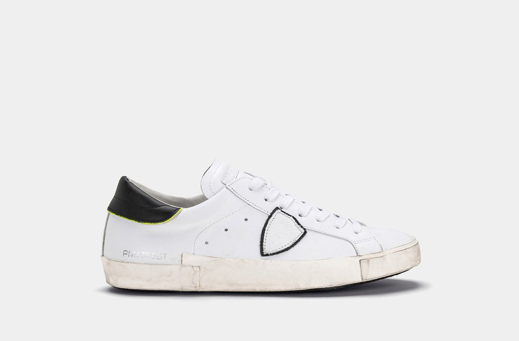 PHILIPPE MODEL AI19 / 20 - PRLU V008 - PRSX - WHITE Men's Shoes Philippe Model Paris