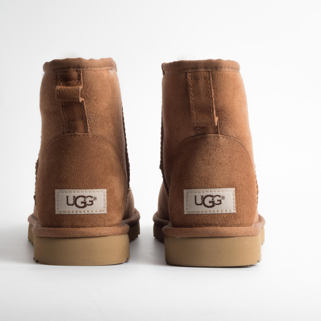 UGG - Original Classic Mini Man - 1002072m - Chestnut Men's Shoes Ugg