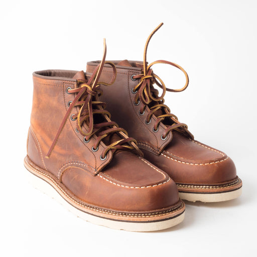 RED WING - FW 2018/19 - Classic Moc Toe 1907 - Copper Shoes Men Red Wing Shoes