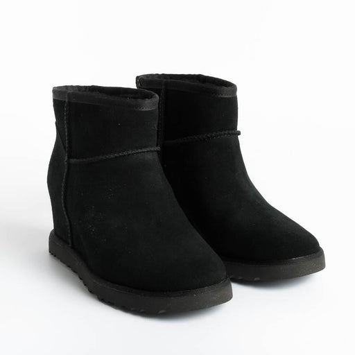 UGG - Original Classic FEMME MINI - W1104609 - Black Woman Shoes Ugg