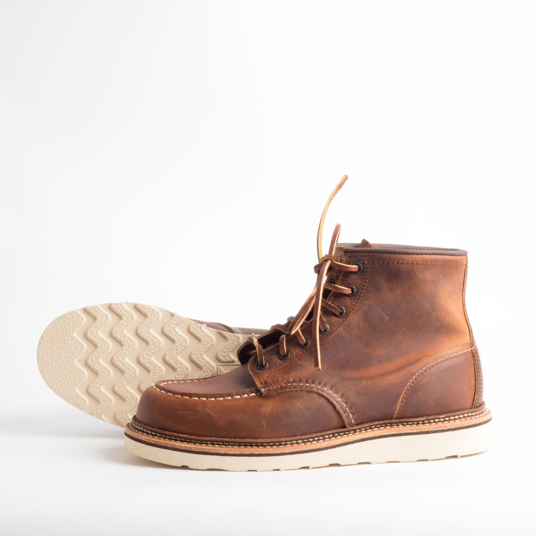 RED WING - AI 2018/19 - Classic Moc Toe 1907 - Copper Scarpe Uomo Red Wing Shoes