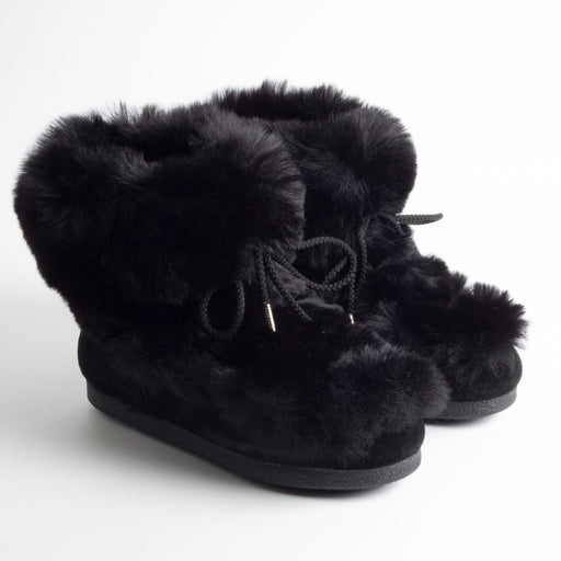 MOON BOOT ORIGINAL - AI 2018/19 - Mid Fur 001 - Black