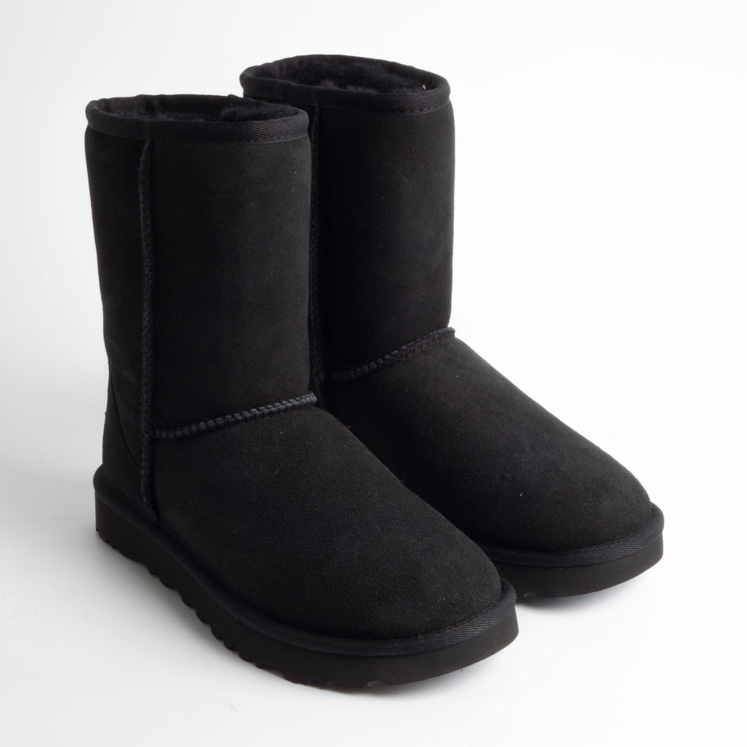 UGG - Classic Short II 1016223w - black Women's Shoes Ugg