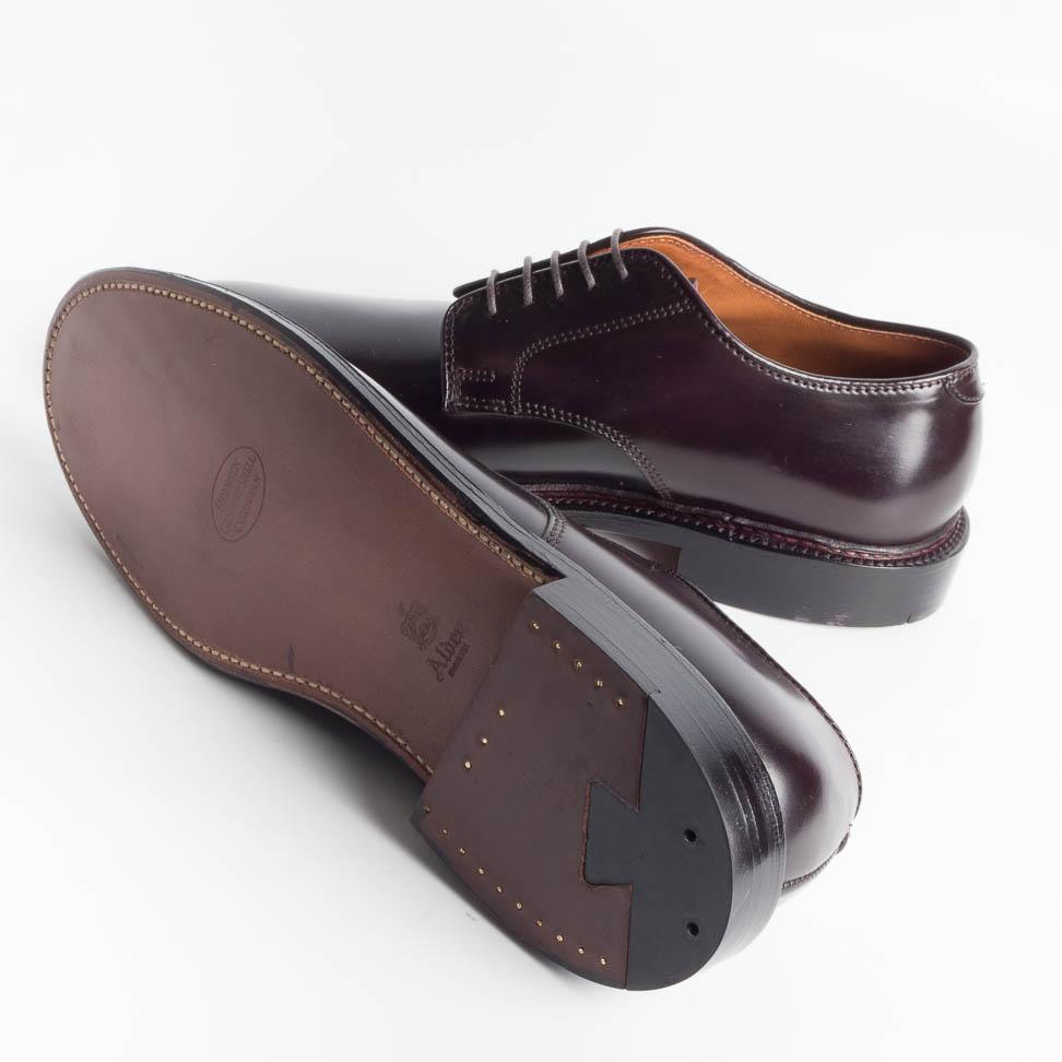 ALDEN - 2938 F - Cordovan Burgundy Liscio - Limited Edition for Cappelletto - Call to buy Alden Men's Shoes