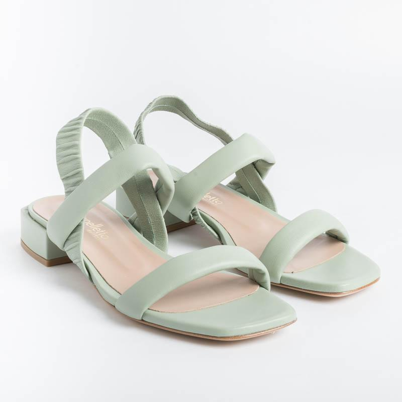 Cappelletto 1948 - Helena9 Sandal - Green Lithium Shoes Woman CAPPELLETTO 1948