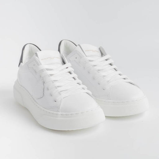 PHILIPPE MODEL - BYLD V002 - Temple - White Black Philippe Model Paris Women's Shoes