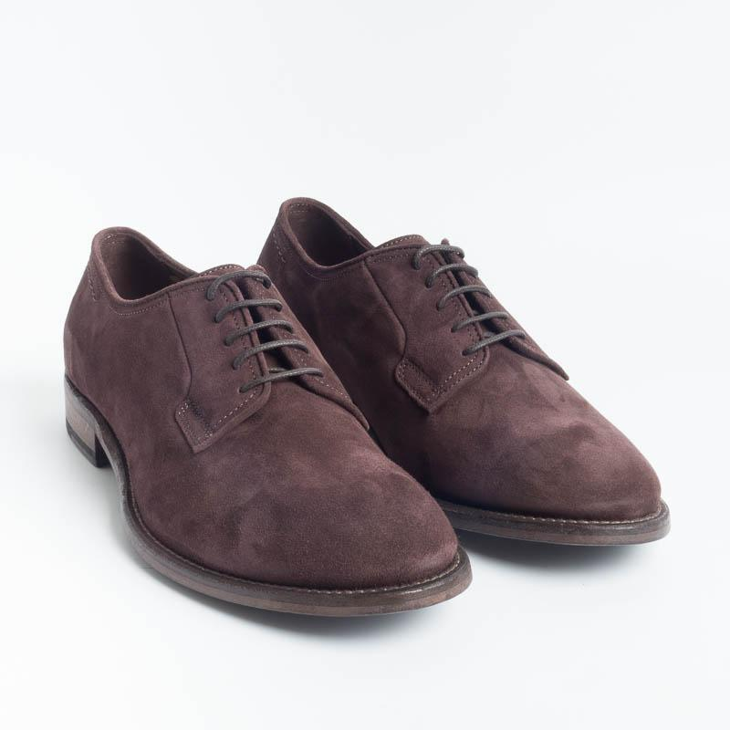 STURLINI - AR25000SFOD - Derby - Velucalf Moka Men's Shoes STURLINI - Men's Collection