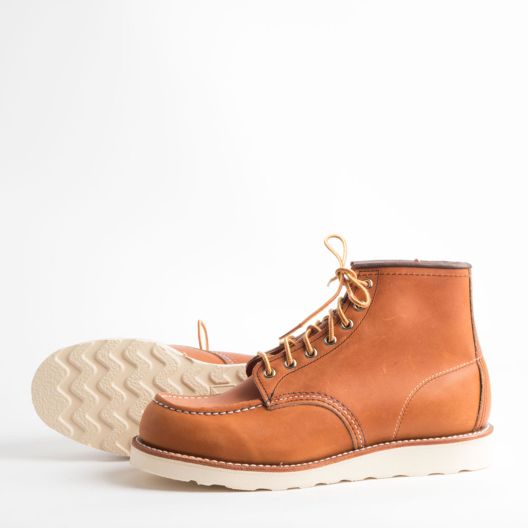 RED WING - FW 2018/19 - Classic Moc 875 - Gold Legacy Men's Shoes Red Wing Shoes