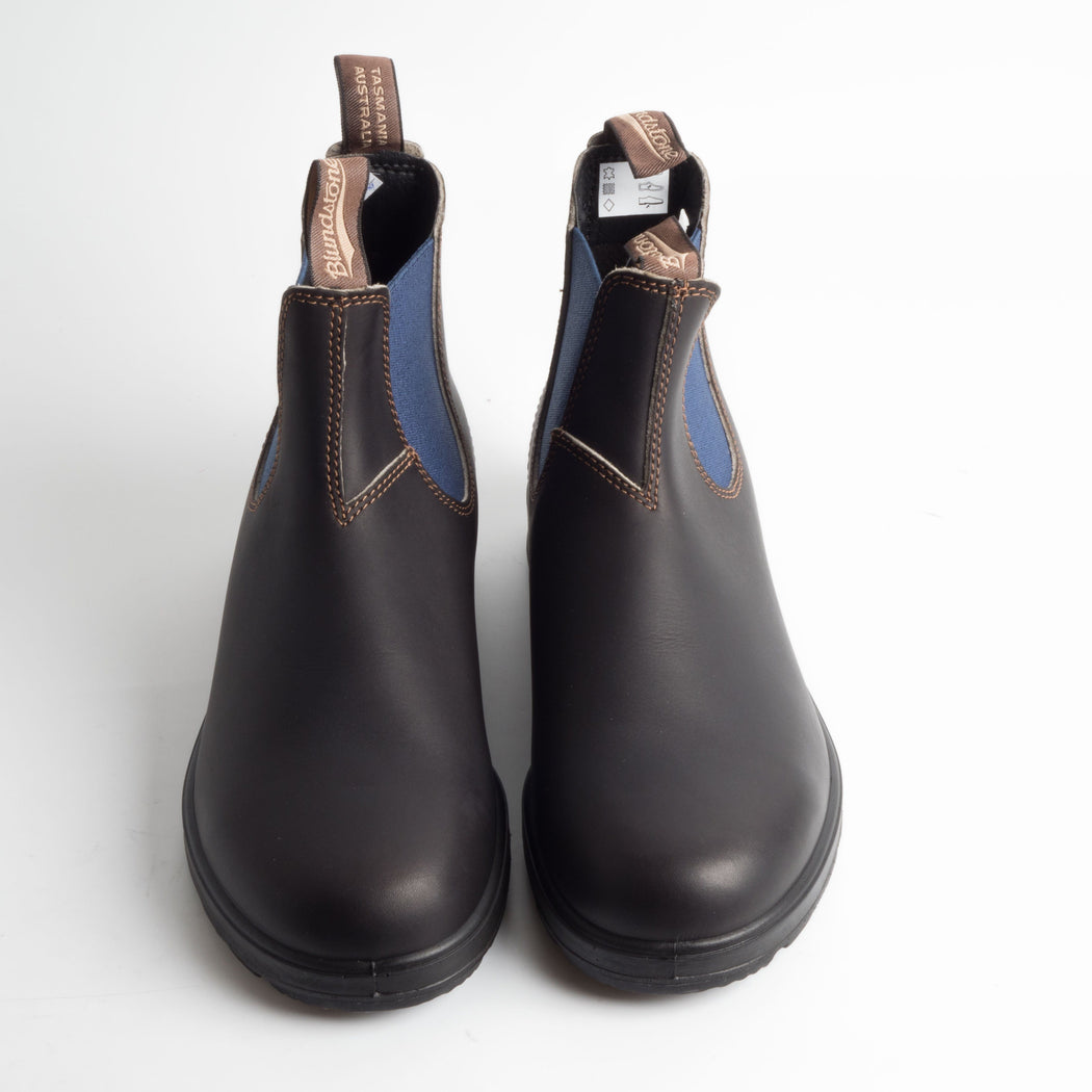 BLUNDSTONE - 578 - STOUT BROWN/BLUE - Cappelletto Shop - Stivalettto Unisex