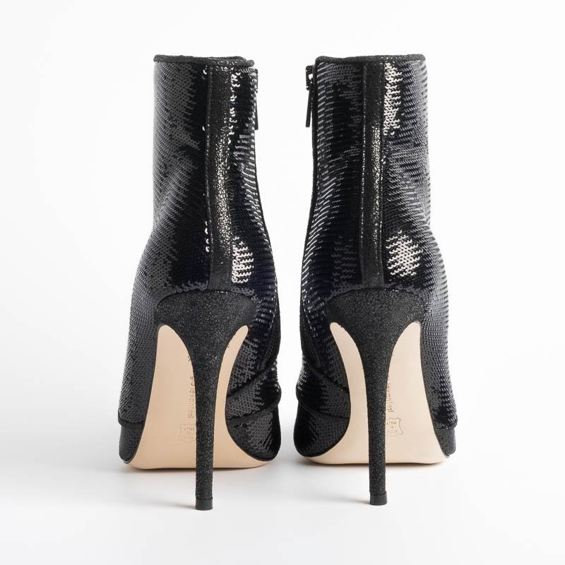 SERGIO LEVANTESI - Ankle Boots - LUXOR - Black Shoes Woman SERGIO LEVANTESI