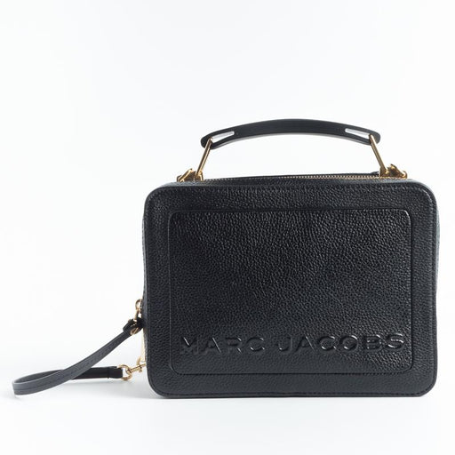 MARC JACOBS - PE 2019 - 14841 - The Mini Box Bag - Black Borse Marc Jacobs