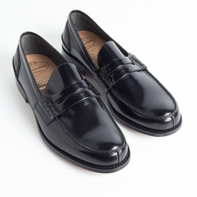 CHURCH'S - TUNBRIGE - Bookbinder - Black Fumé Scarpe Uomo Church's