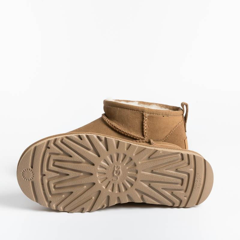 UGG - Original Classic Ultra Mini - W1116109 - CHESNUT Woman Shoes Ugg
