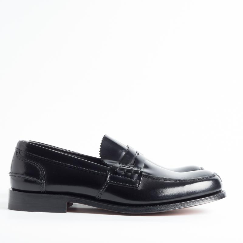 CHURCH'S - TUNBRIGE - Bookbinder - Black Fumé Men's Church's Shoes
