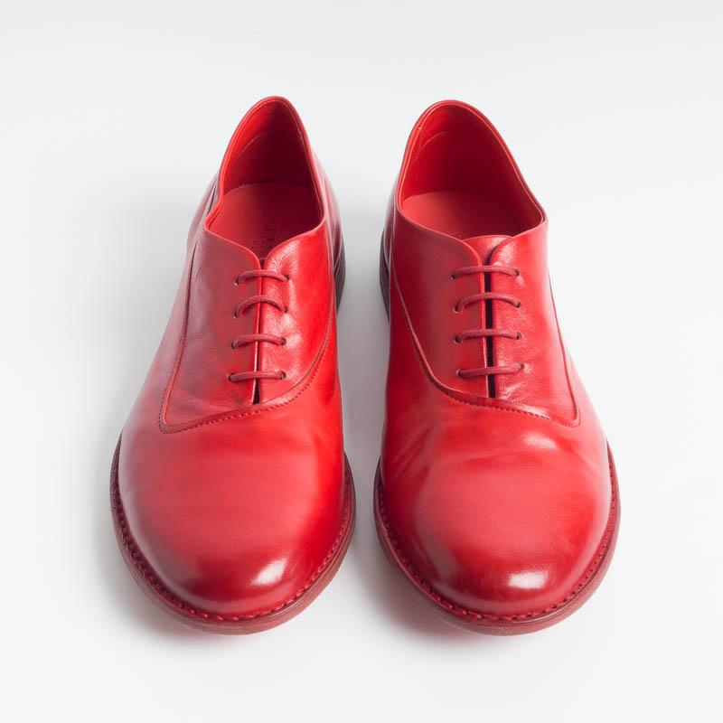 PANTANETTI - Francesina 13170 - Red Women's Shoes PANTANETTI