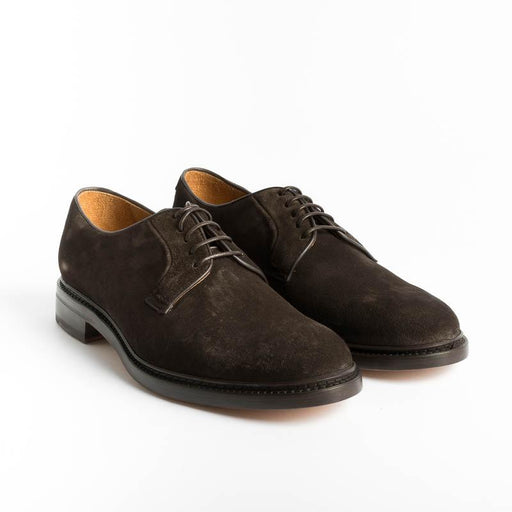 BERWICK 1707 - 5268 - Derby - Softy Marrone Scarpe Uomo Berwick 1707