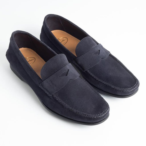 CHURCH'S - Karl - Beaver - Navy Men's Shoes Church's