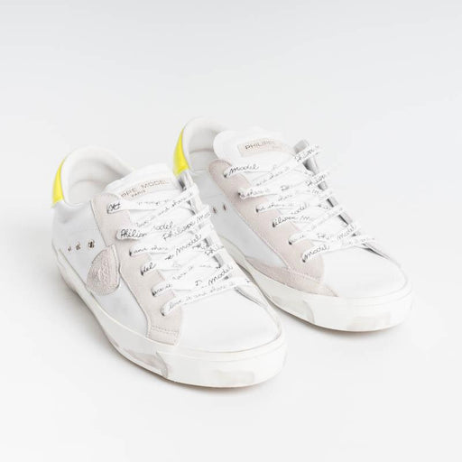 PHILIPPE MODEL - PRLD VB04 - ParisX - Yellow Fluo Women's Shoes Philippe Model Paris