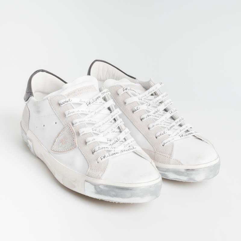 PHILIPPE MODEL - PRLU MA02 - ParisX - White Men's Shoes Philippe Model Paris