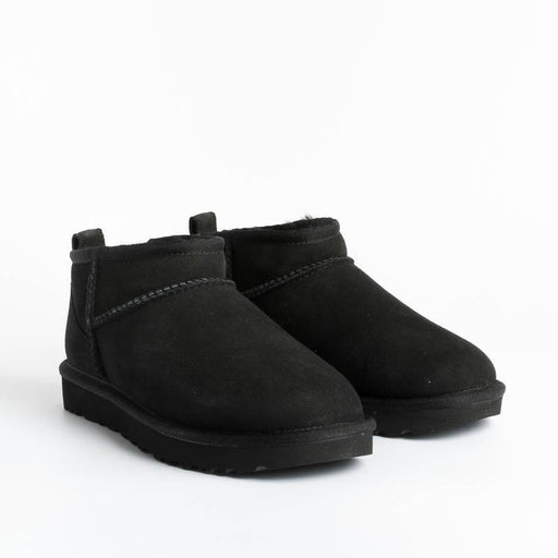 UGG - Original Classic Ultra Mini - W1116109 - BLACK Ugg Woman Shoes