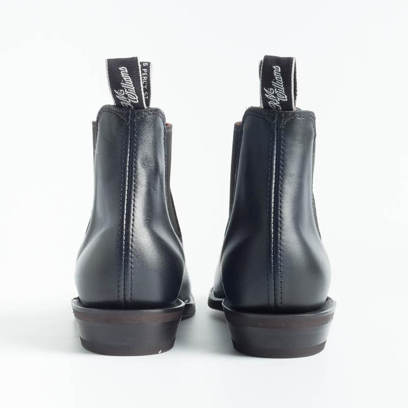RM Williams - Adelaide Rubber Sole - Black Women's Shoes RM Williams - Women's Collection