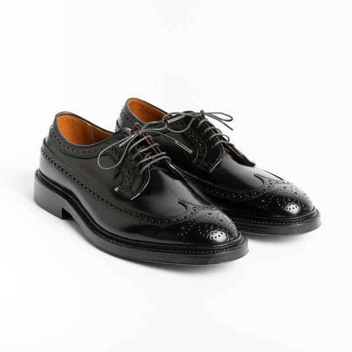 ALDEN - 9751 - Cordovan Duilio Derby - Black Color - Call to buy Alden Men's Shoes