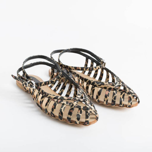 ANNA F. - Sandals 513 - Spotted Fabric Women's Shoes Anna F.