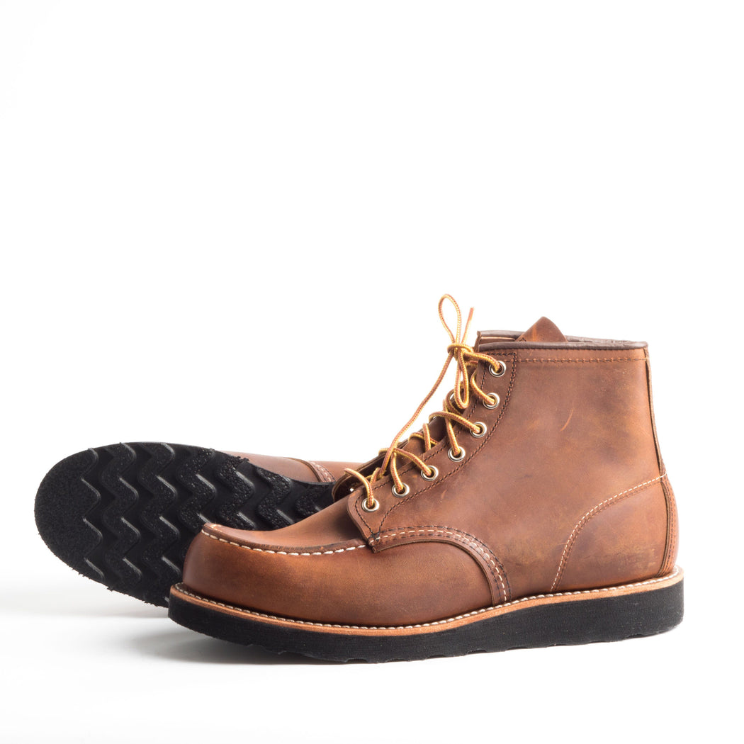 RED WING - FW 2018/19 - 8886 - Copper Shoes Men Red Wing Shoes