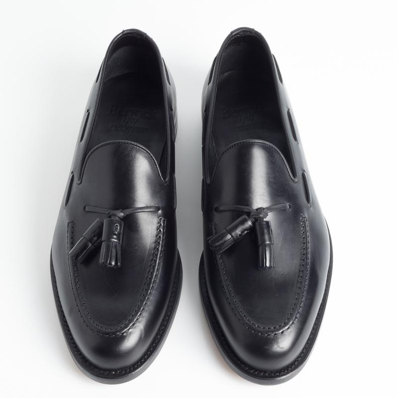 BERWICK 1707 - SS 2019 - 8491 - Tassel Loafer - Black Men's Shoes Berwick 1707