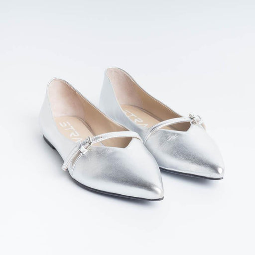 STRATEGY - Ballerina - SCILLA - T36 - Silver tassel Shoes Women Strategy