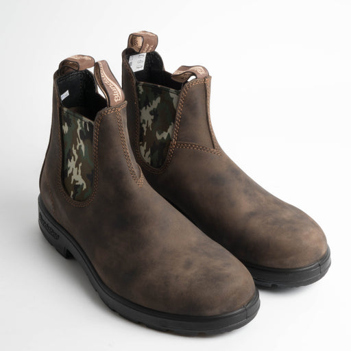 BLUNDSTONE - 1612 - RUSTIC BROWN / CAMOUFFLAGE - Stivaletto