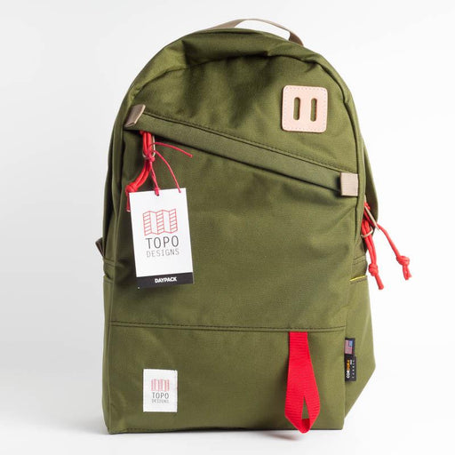 TOPO DESIGNS - Daypack - Olive Men's Accessories TOPO DESIGNS