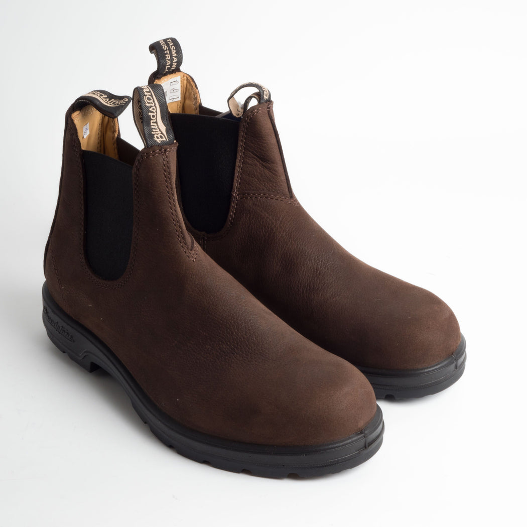 BLUNDSTONE - 1606 - BROWN NUBUCK PEBBLE Blundstone Blundstone collection