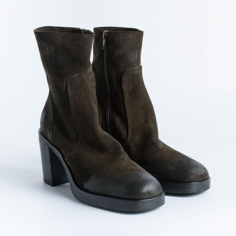 STRATEGIA - Ankle boot A4956 - Olive wash Shoes Woman Strategy