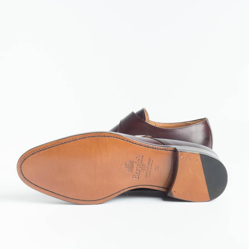 BERWICK 1707 - 3017 - K2 - Buckle - Dark Brown Man Shoes Berwick 1707