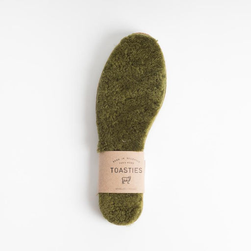 TOASTIES - Men's insole - green Men's Accessories Toasties