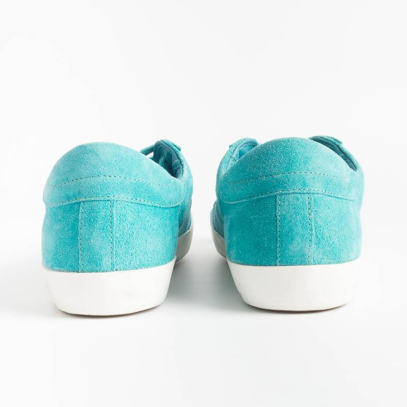 PHILIPPE MODEL - CLLD XN15 - Suede - Turquoise Philippe Model Paris Women's Shoes