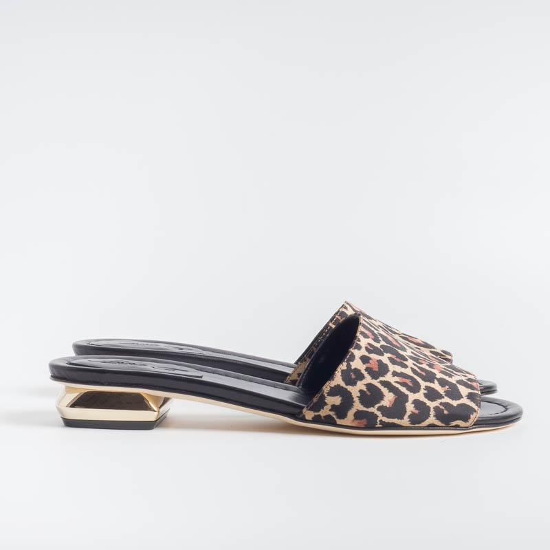 ANNA F. - Slipper - 7607 - Spotted Fabric Women's Shoes Anna F.