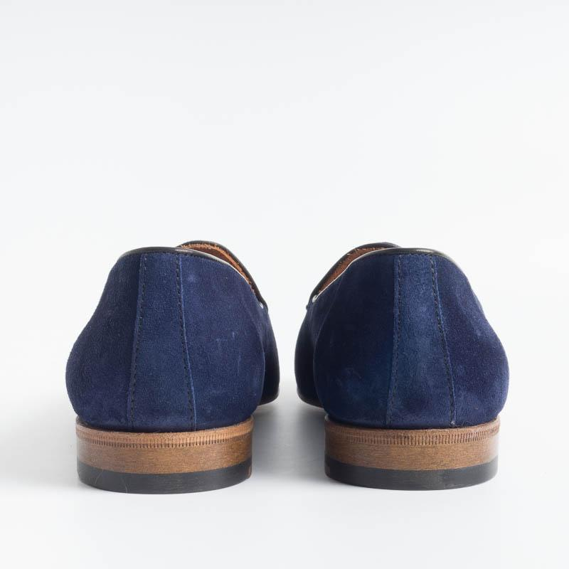 BERWICK 1707 - Woman Moccasin - Blue suede Shoes Woman BERWICK 1707 - Woman Collection
