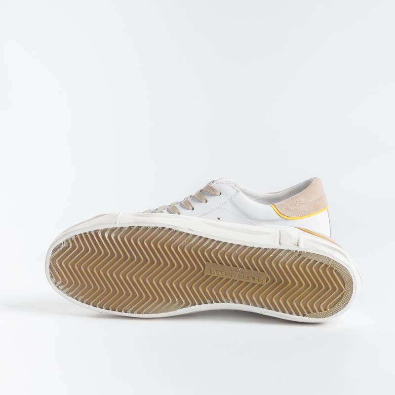 PHILIPPE MODEL - PRLU VX01 - ParisX - White Beige Men's Shoes Philippe Model Paris