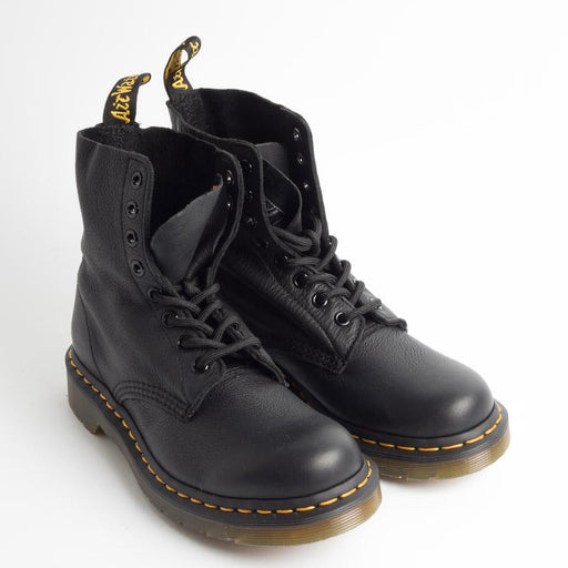 DR MARTENS - 1460 PASCAL VIRGINIA - Black Shoes Woman DR MARTENS