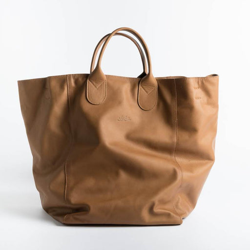 SACHET - Shopping Tote 114 - Leather Bags SACHET CUOIO