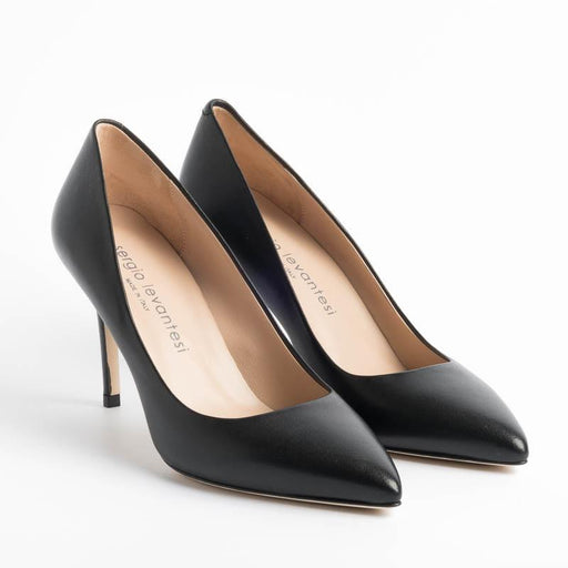 SERGIO LEVANTESI - Pumps - DIVA - Nappa - Black Women's Shoes SERGIO LEVANTESI