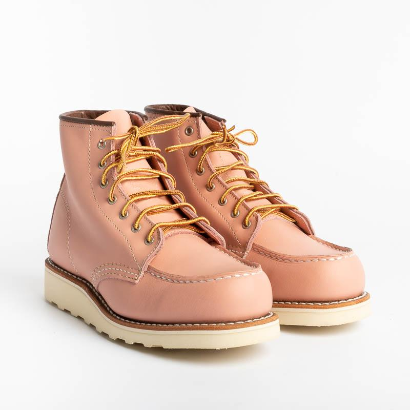 RED WING - 3387 Moc Toe - Rose Boundary Shoes Woman Red Wing Shoes