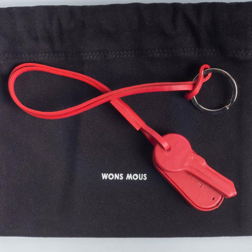 WONS MOUS - Keyring - various colors Accessories Woman WONS MOUS RED