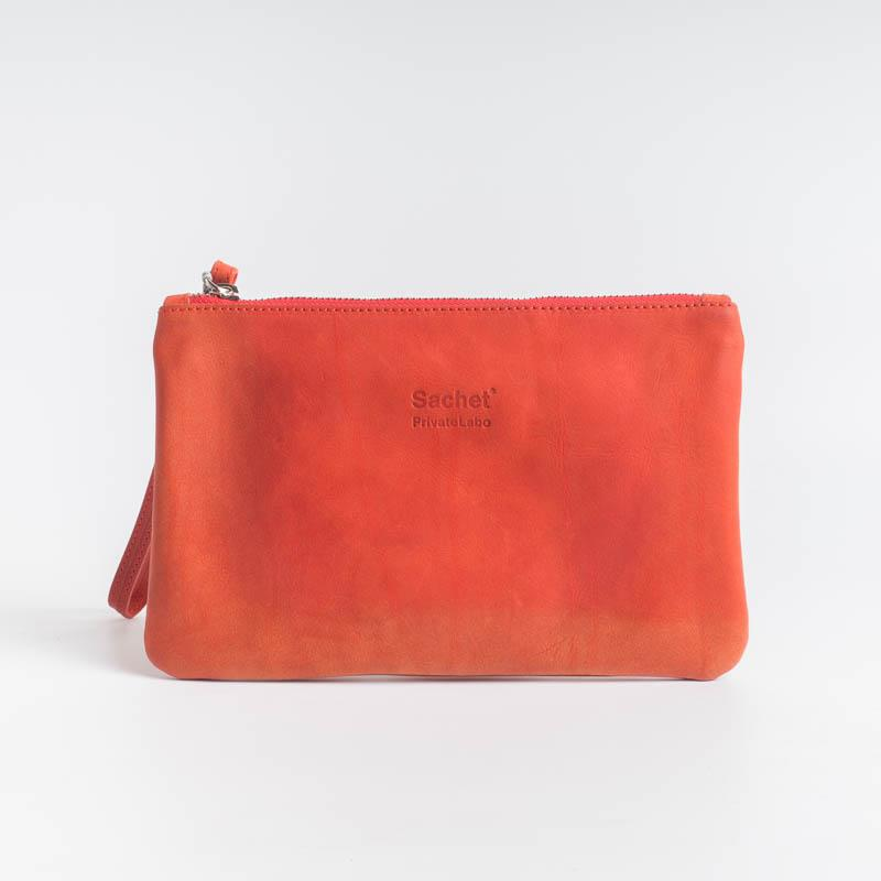 SACHET PRIVATE LABO - Limited Edition - P1 - Various colors Bags SACHET RED CALFSKIN