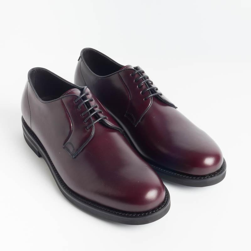 BERWICK 1707 - 4234 - Derby - Bordeaux Men's Shoes Berwick 1707