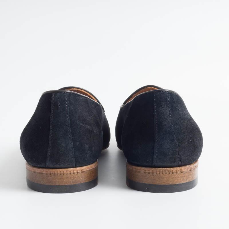 BERWICK 1707 - Woman Moccasin - Black suede Shoes Woman BERWICK 1707 - Woman Collection